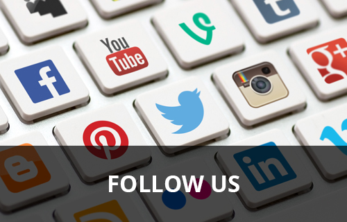 Follow us on LinkedIn and Facebook
